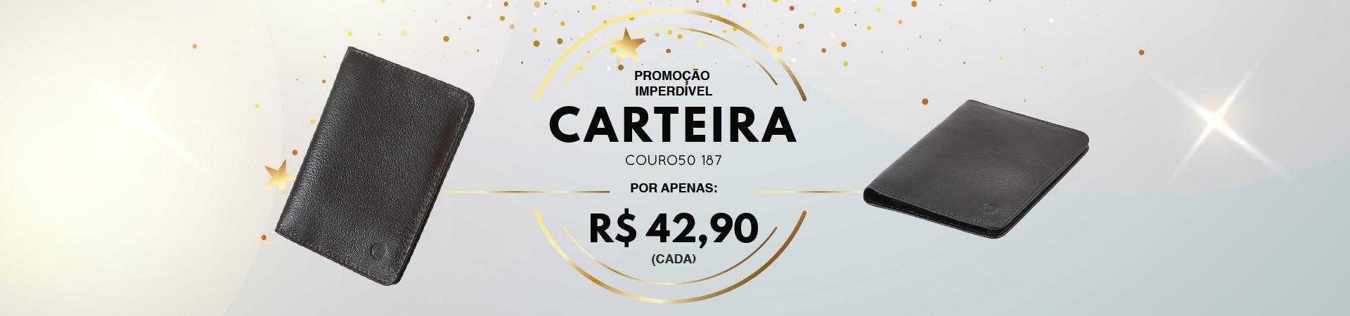 COURO50 BOLSA CARTEIRA 2190 237