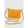 Bolsa Transversal Couro Mariart 2260C Gold