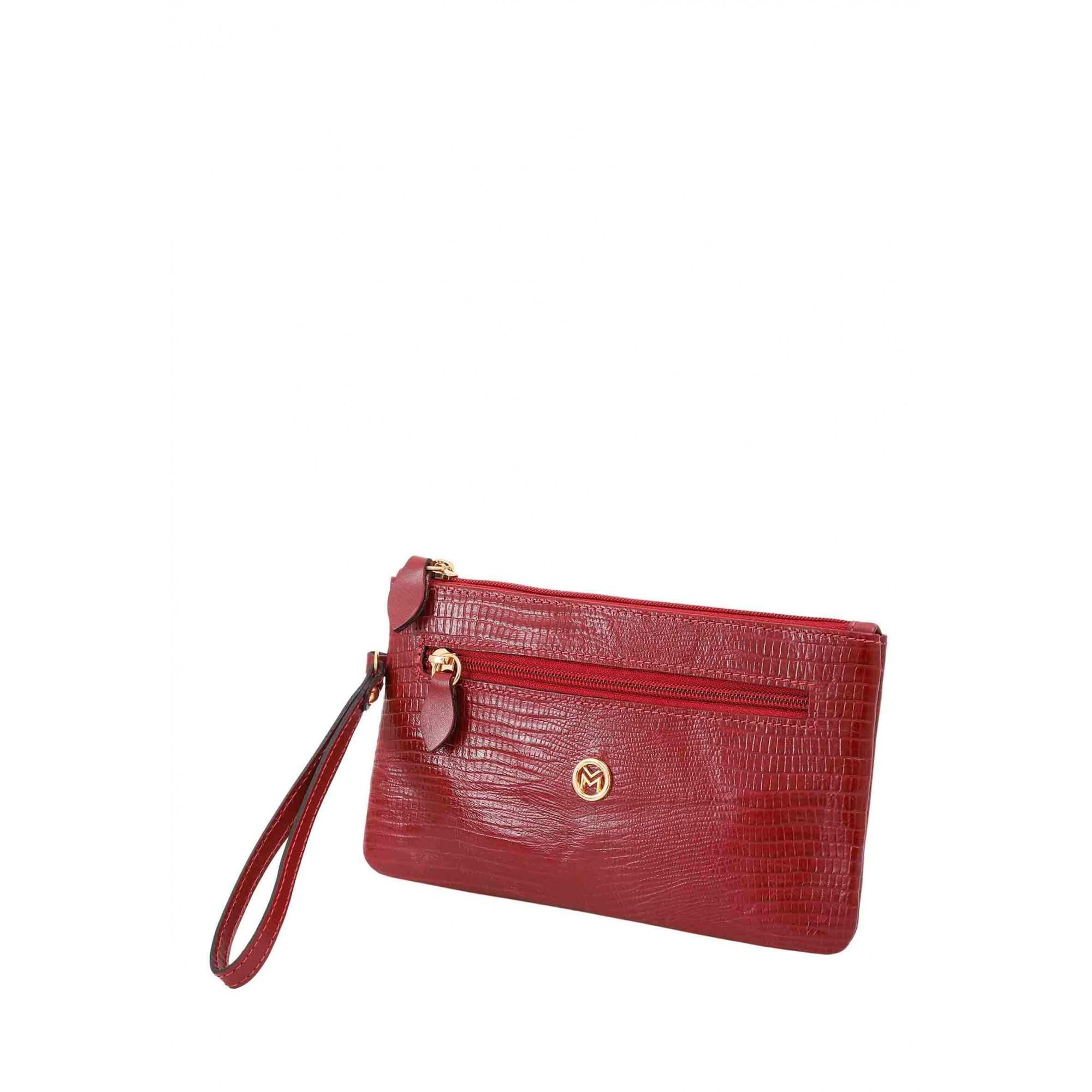 Bolsa Carteira Clutch Couro Mariart 261L