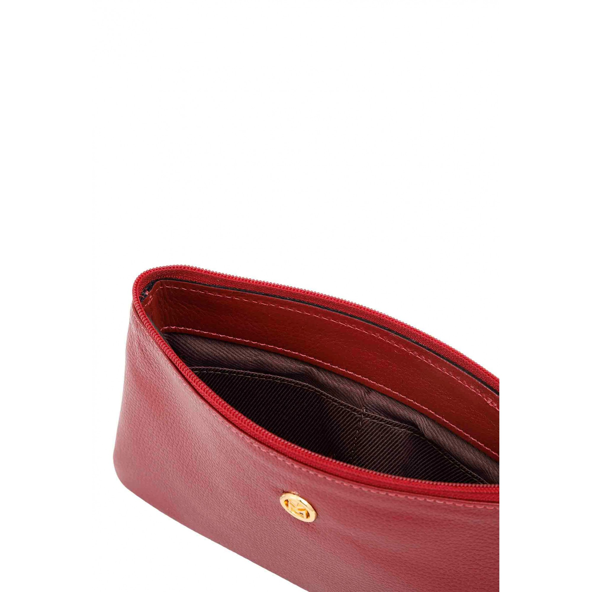 Bolsa Carteira Clutch Couro Mariart 262