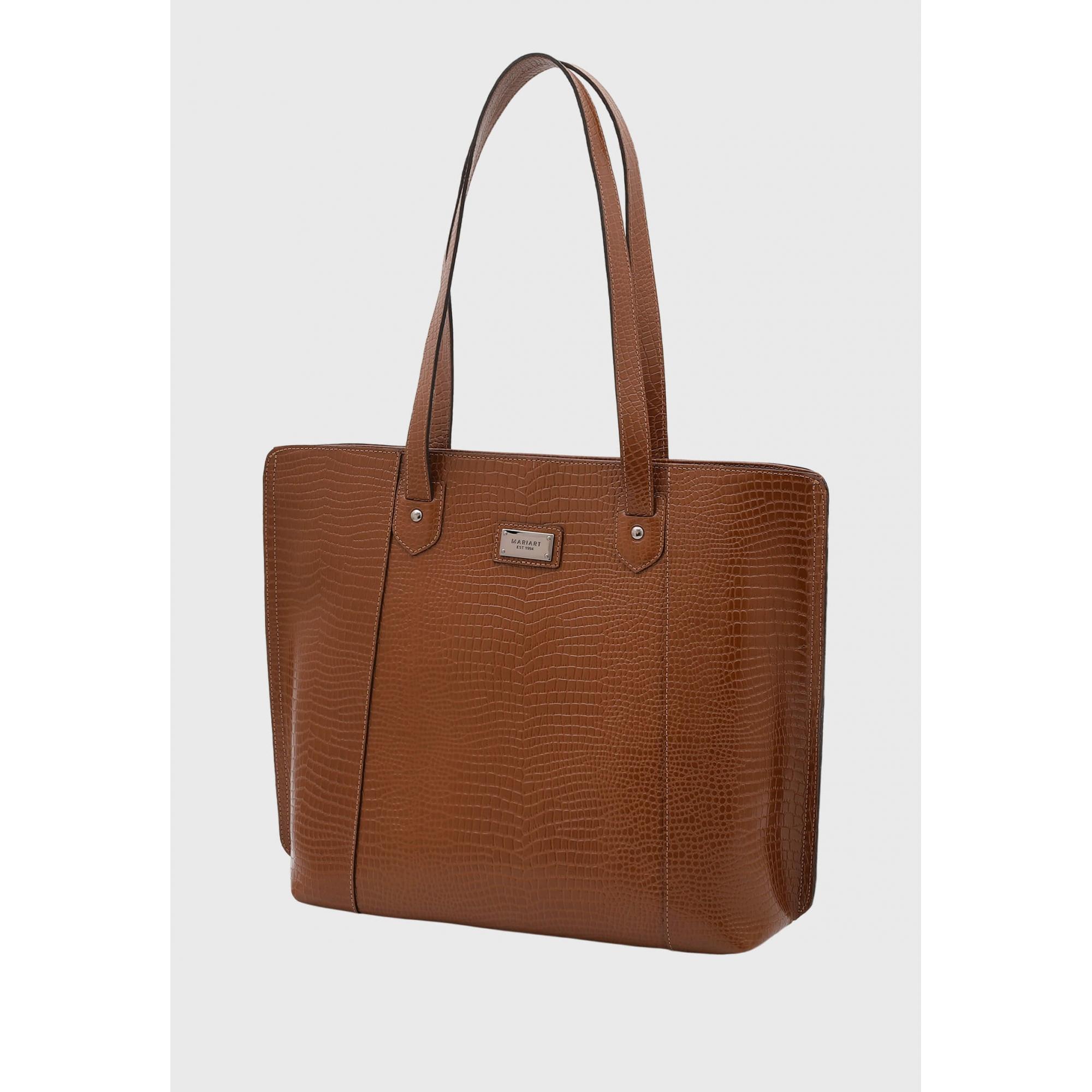 Bolsa Shopper Couro Mariart 5240