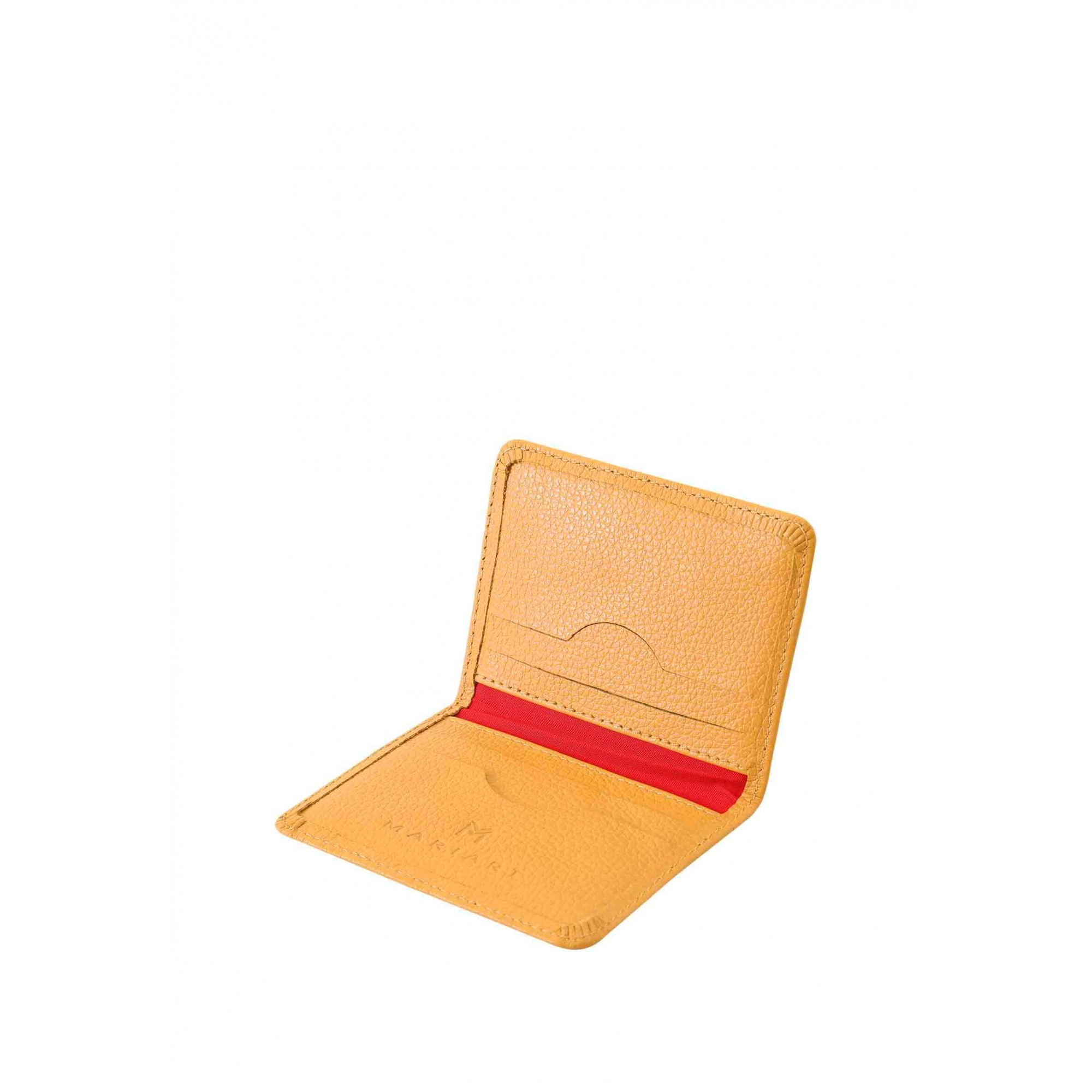 Carteira Couro Mariart 554C CORES Gold