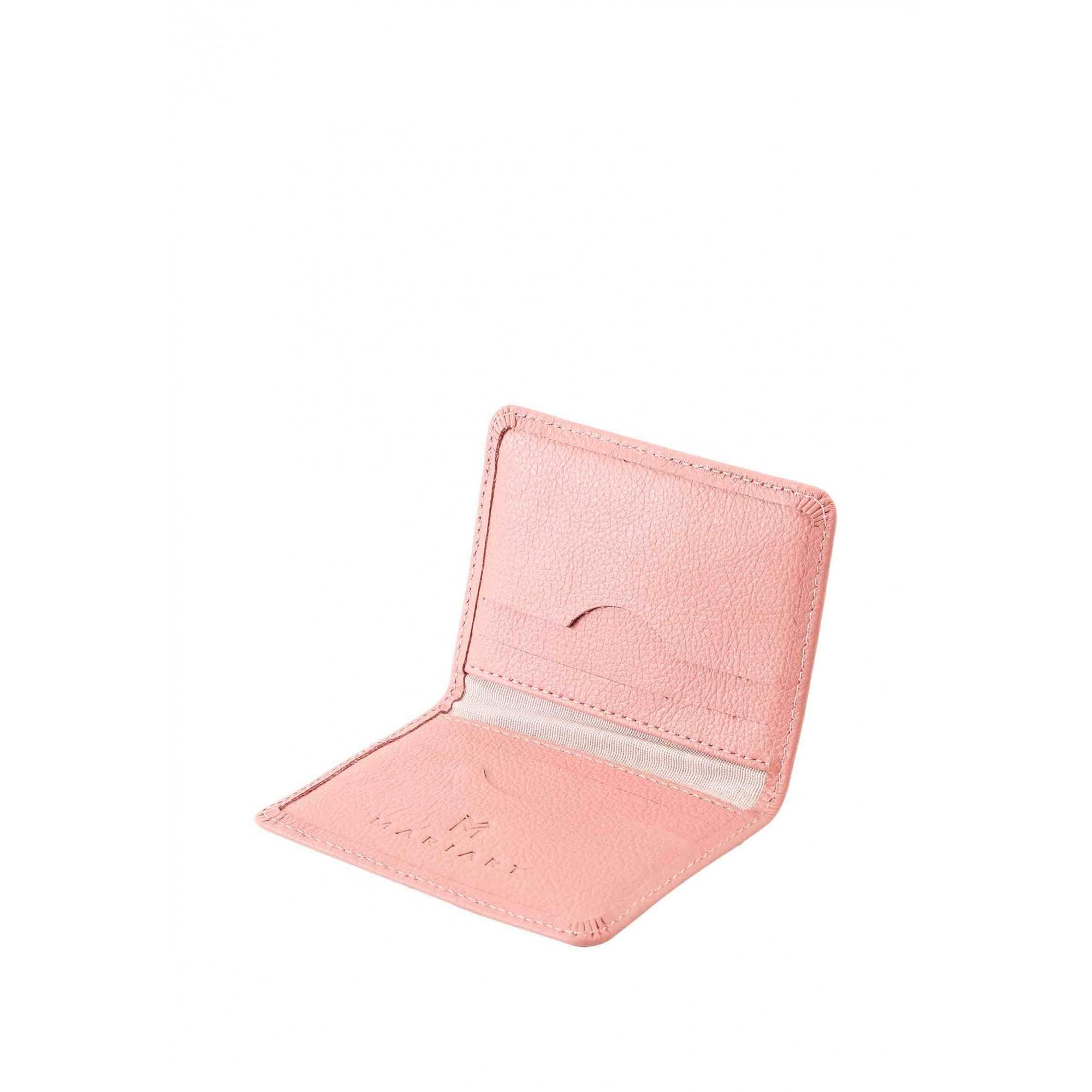 Carteira Couro Mariart 554C CORES Rosé