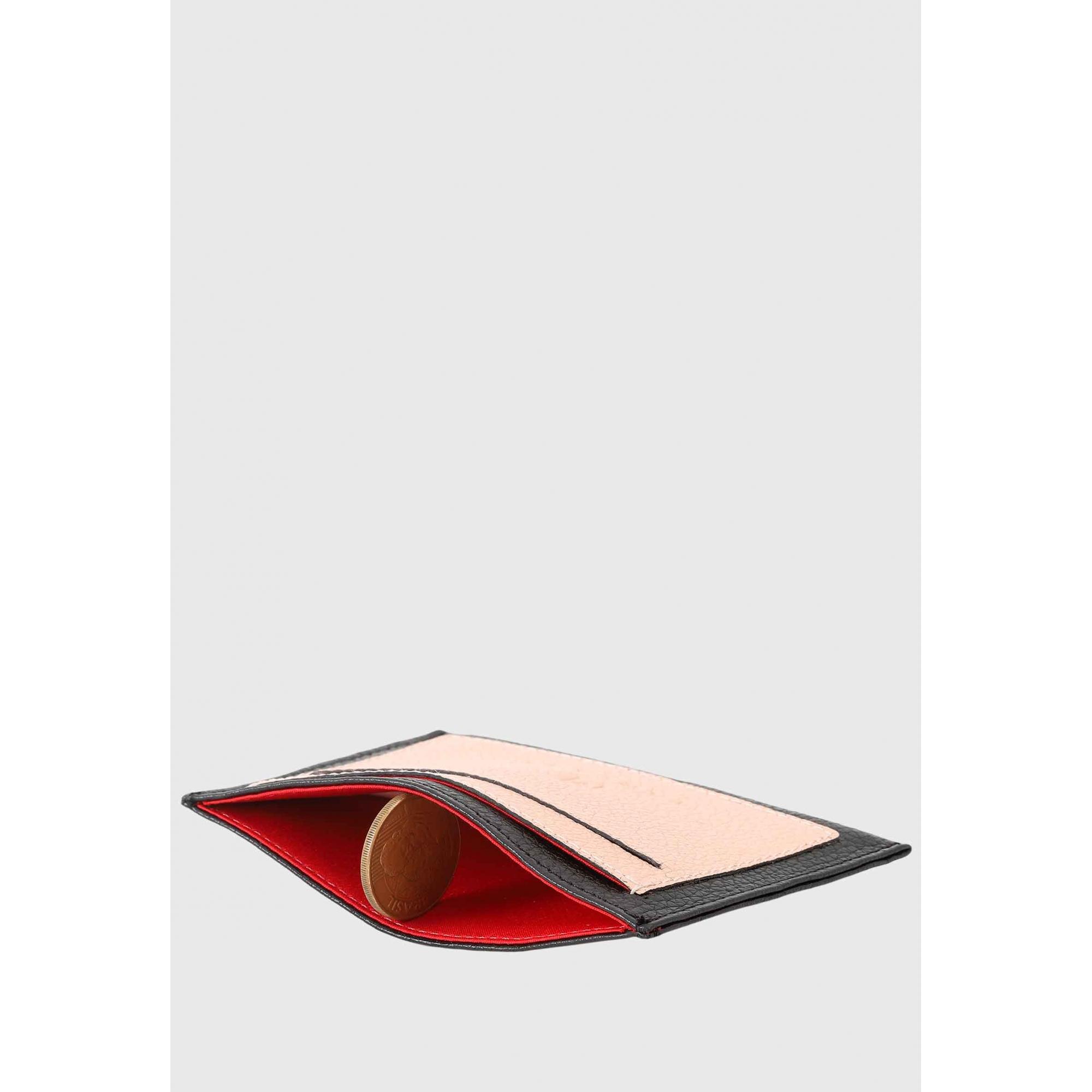Porta Cartão Couro Mariart 617
