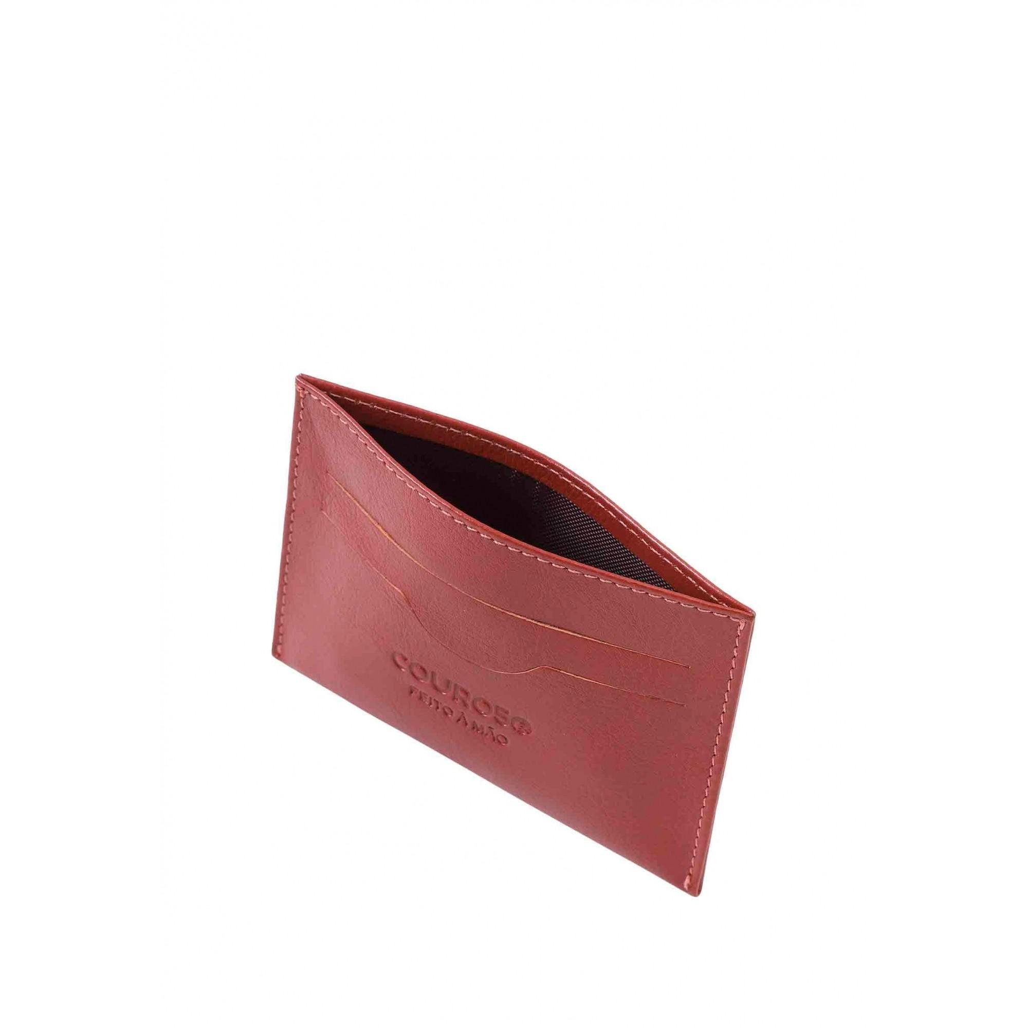 Porta Cartão Couro Couro50 158