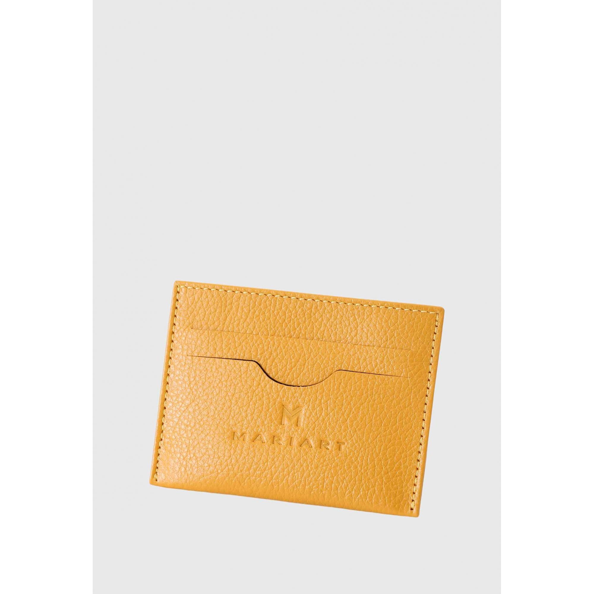 Porta Cartão Couro Mariart 158C CORES Gold