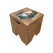 Banco volpi em madeira - Fusca Air Cooled