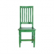 Cadeira artesanal em madeira maciça mesa de jantar