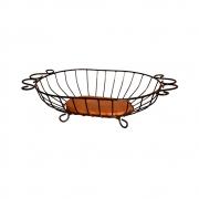 Fruteira de mesa oval - G