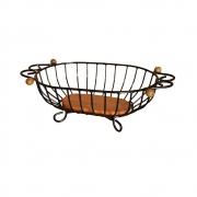 Fruteira de mesa oval - P