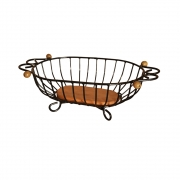Fruteira de mesa oval P