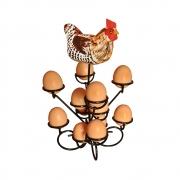 Porta ovos artesanal