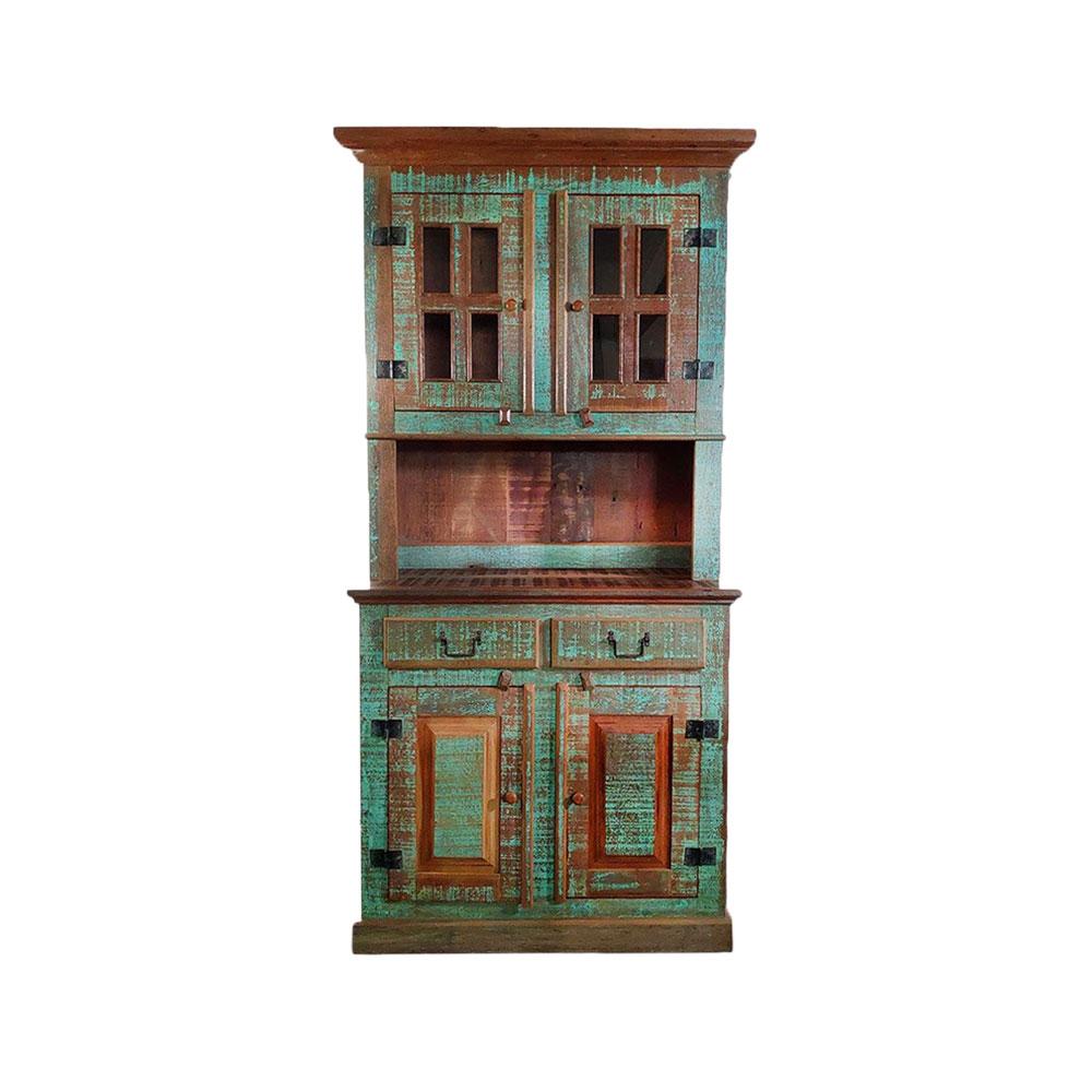 Armário de cozinha em madeira - duas portas