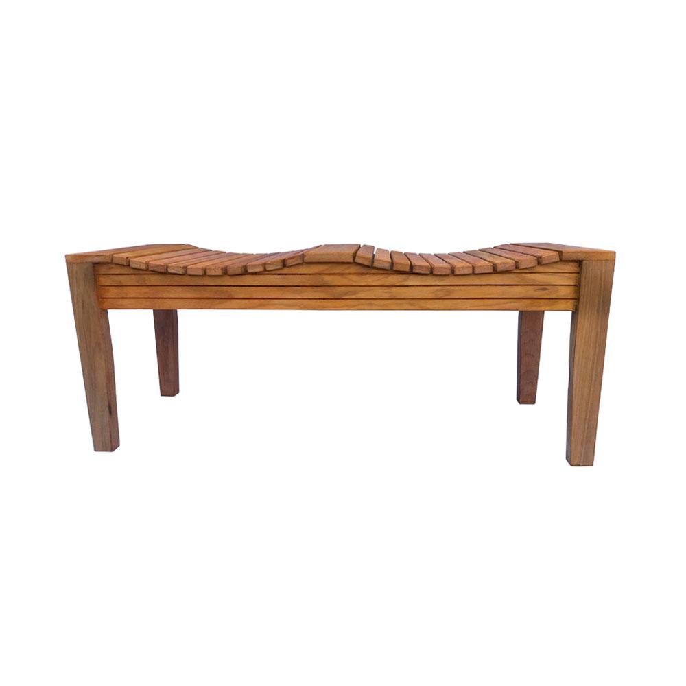 Banco de madeira 100 cm