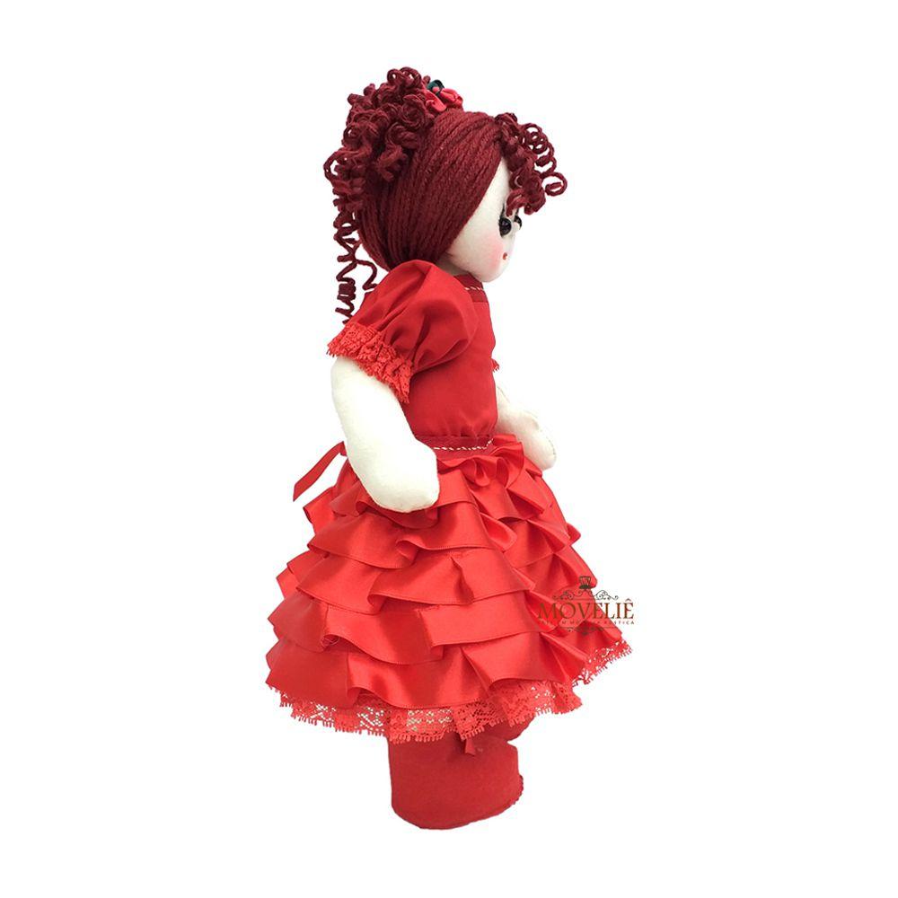 Boneca de Pano Dançarina