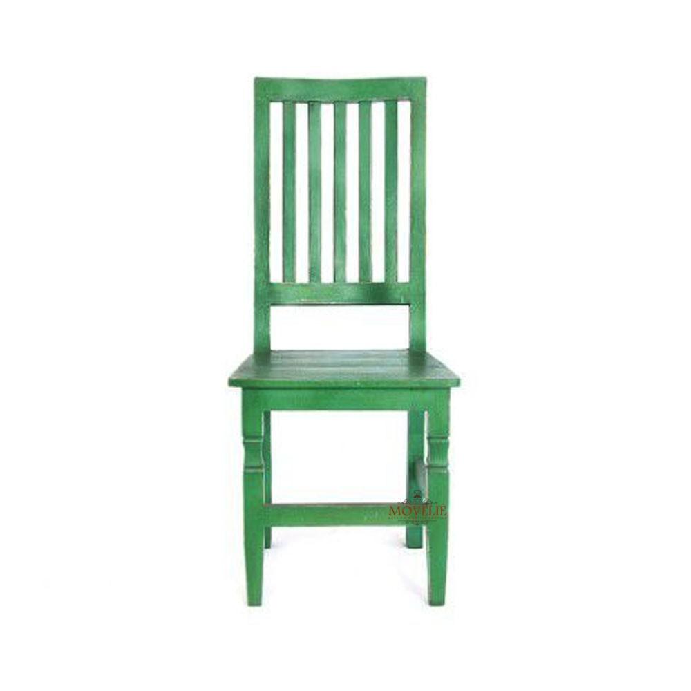 Cadeira para mesa de jantar - verde