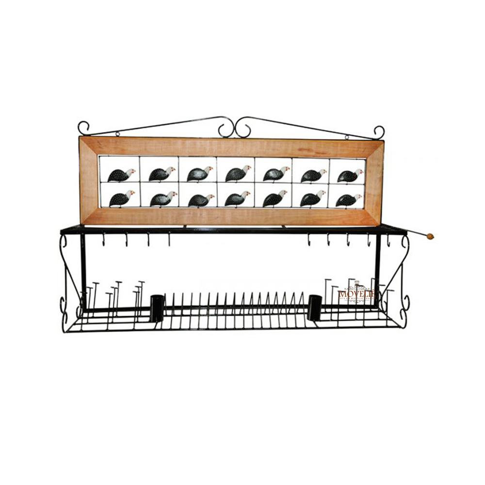 Escorredor de louça de parede angola 1 metro