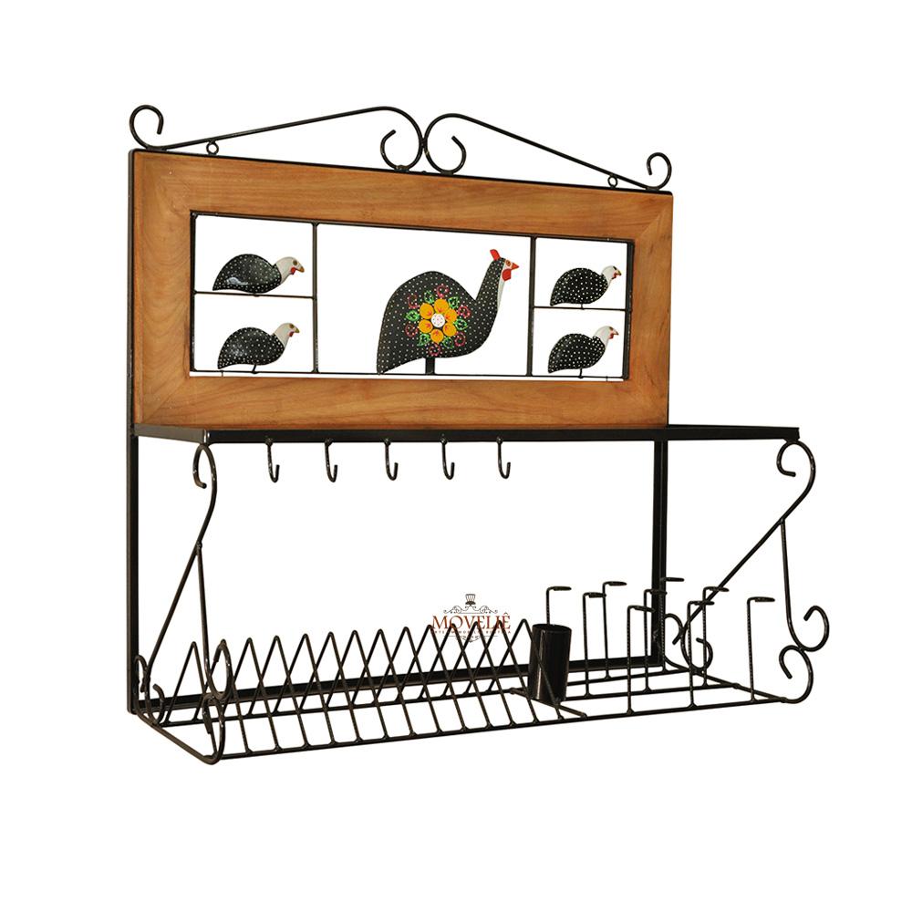 Escorredor de Louça de Parede 80 cm