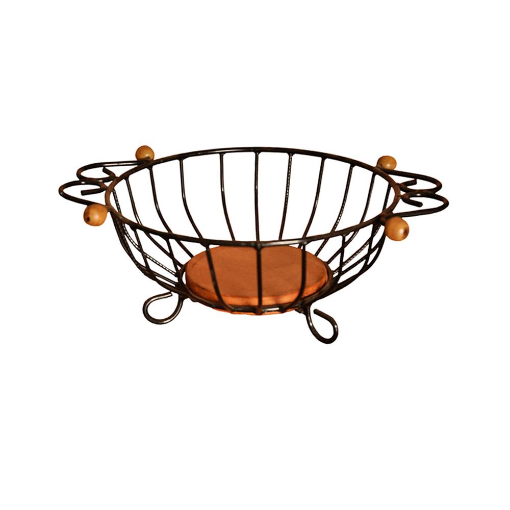 Fruteira de mesa redonda P