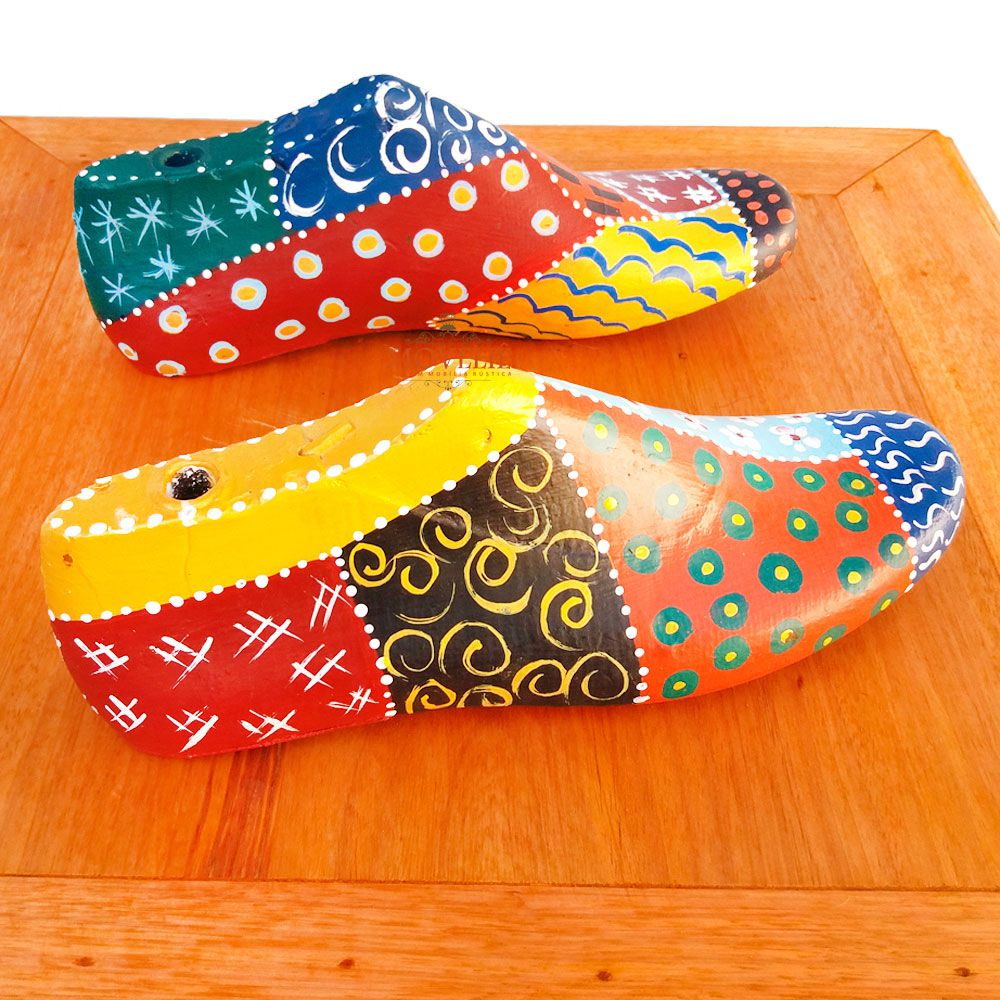 Jogo Forma de Sapato Decorativa