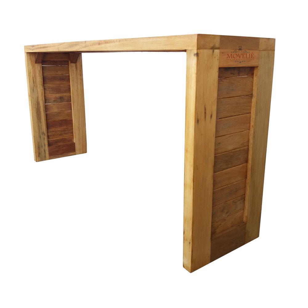 Mesa Aparador para Sala com Ladrilho Estilo Português - Alto