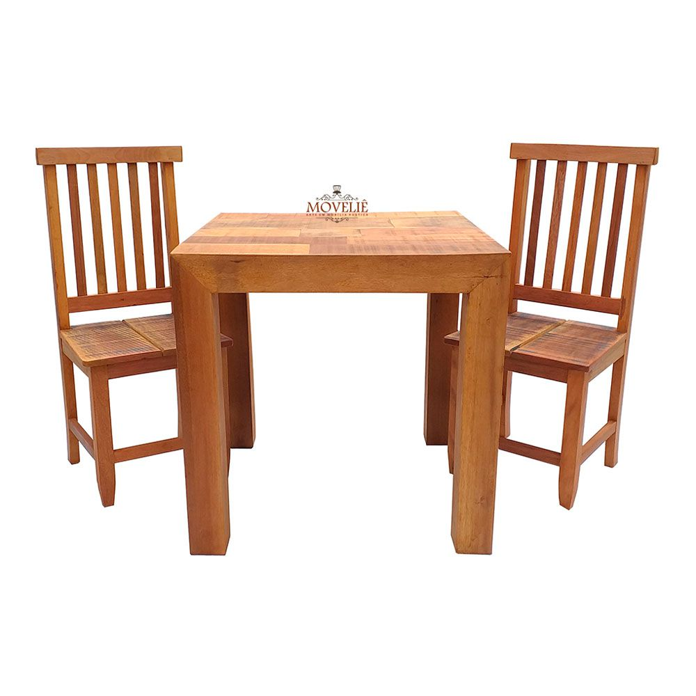 Mesa de Jantar em Madeira Maciça de Jequitibá