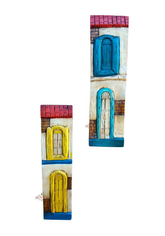 Quadro Casarões de Minas Gerais 54x15