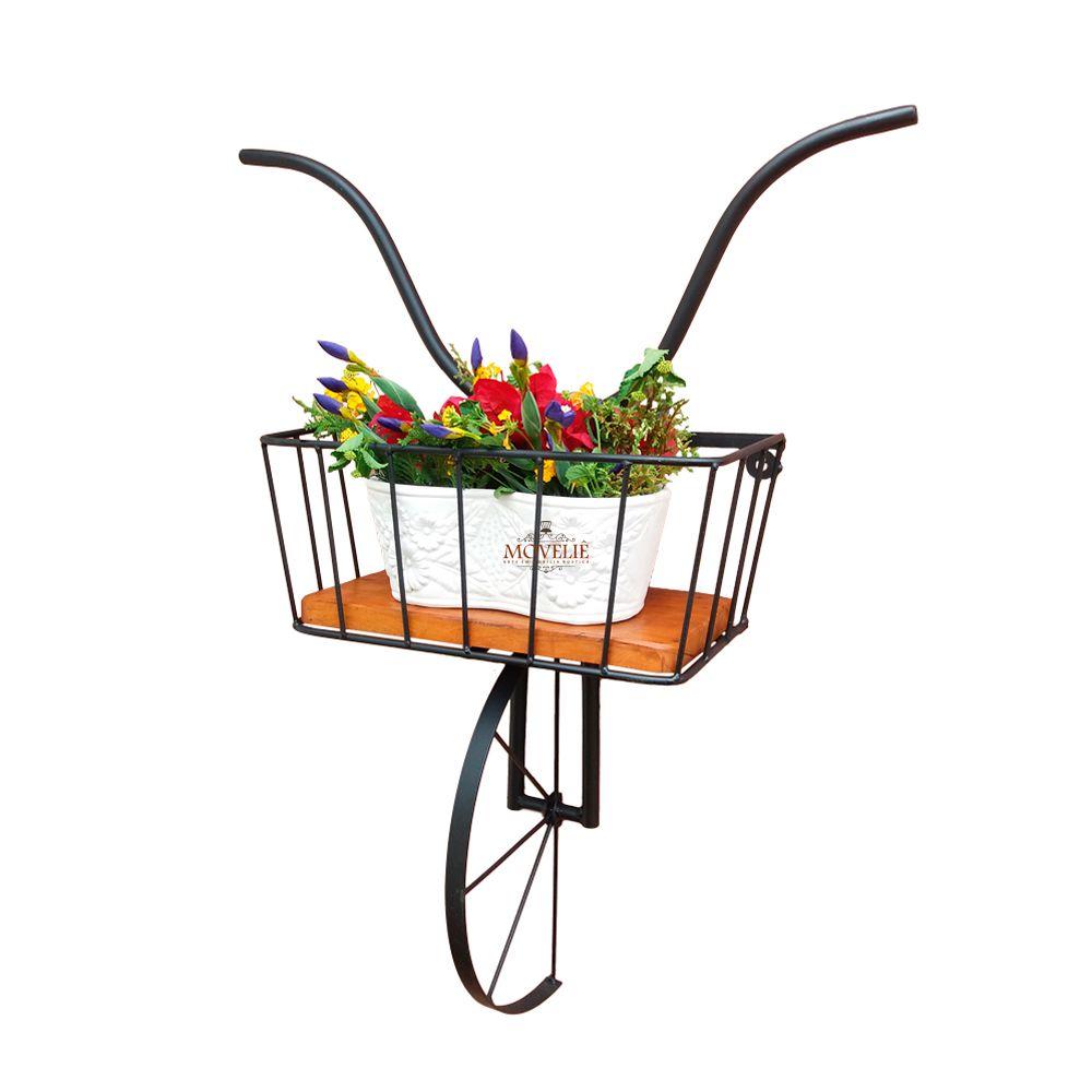 Suporte para vaso de planta - Preto