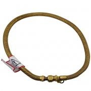 Flexivel para fogão dourado 1m 1/2 NPT X NPTF