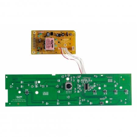 Placa eletrônica compatível Lavadora Brastemp BWK11