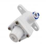 Regulador de pressão com engate rápido tubo de 1/4 x 1/4