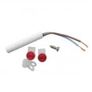Sensor de temperatura 10k ohm geladeira Brastemp e Consul