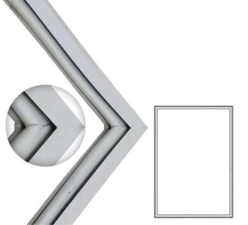 Borracha Gaxeta Refrigerador Cce, Dako, Ge 67 x121 Colada