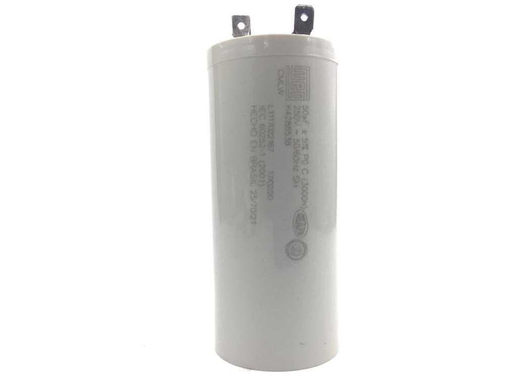 Capacitor para lavadora Brastemp e Consul 50UF X 250Vac 127v