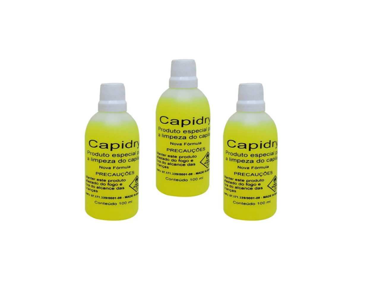Capidryl 100ML 3 peças