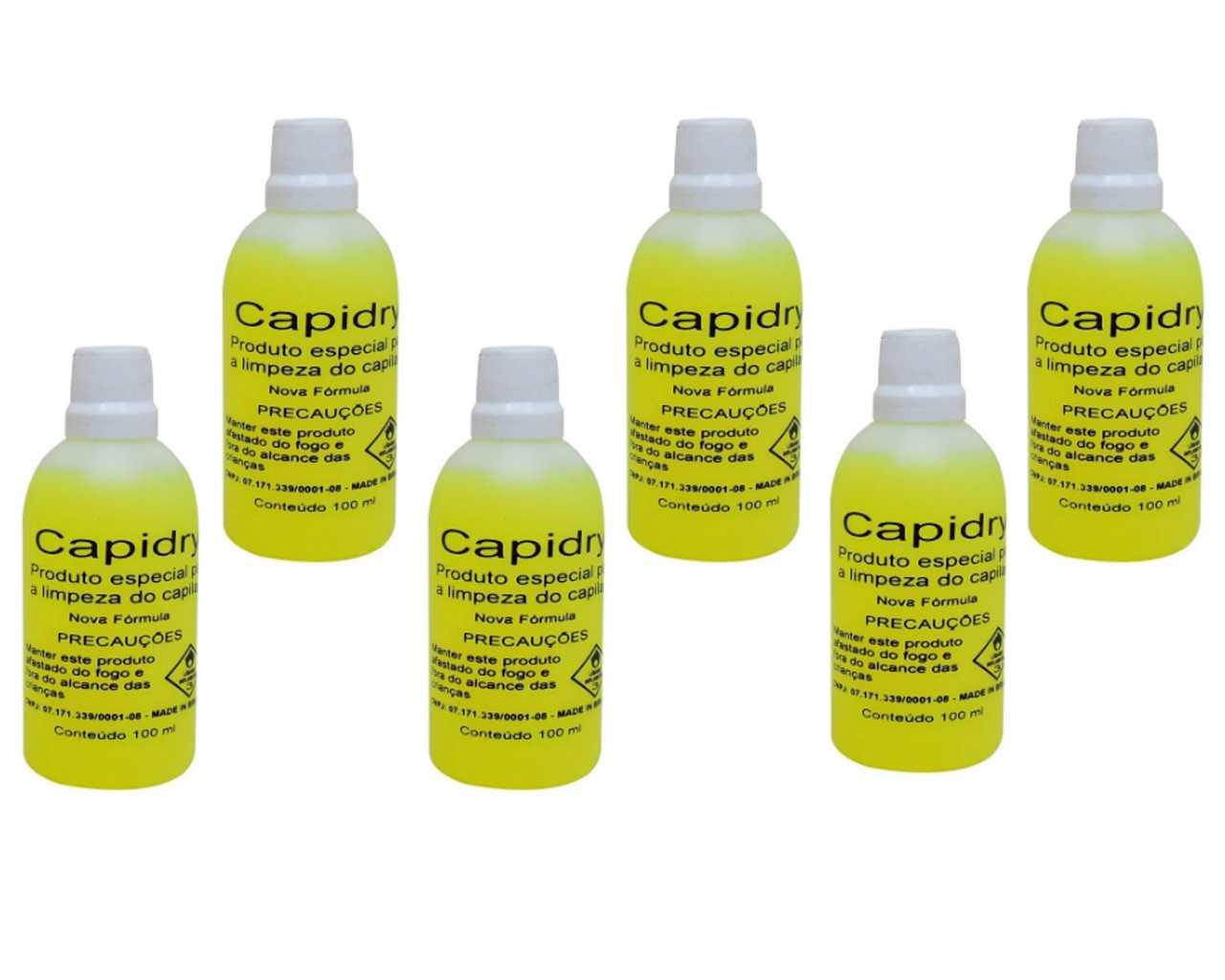 Capidryl 100ml 6 peças