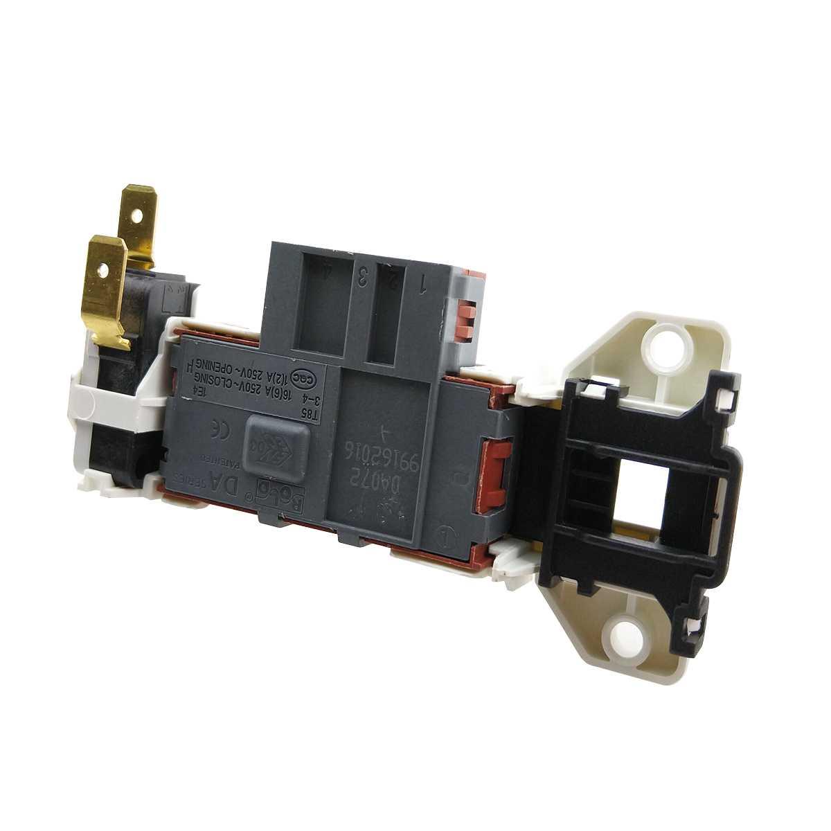 Dispositivo trava da porta lavadora Electrolux LTD15, LTD06, LTE12, LTC07, LTD13, LDD16