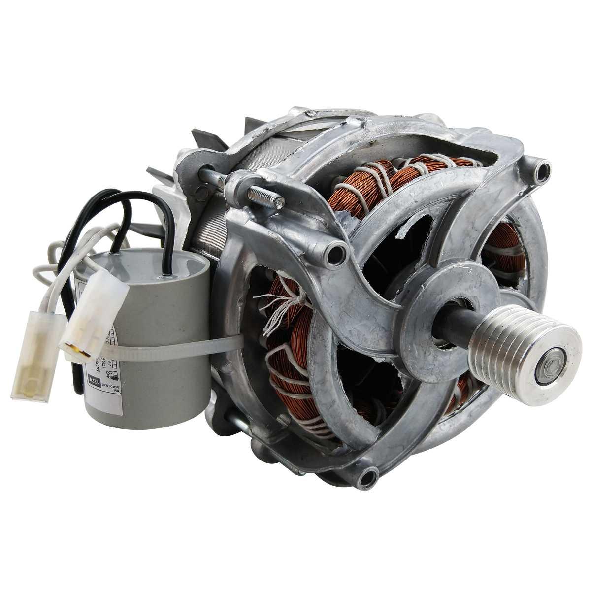 Motor 127v Compatível tanquinho Suggar polia estriada
