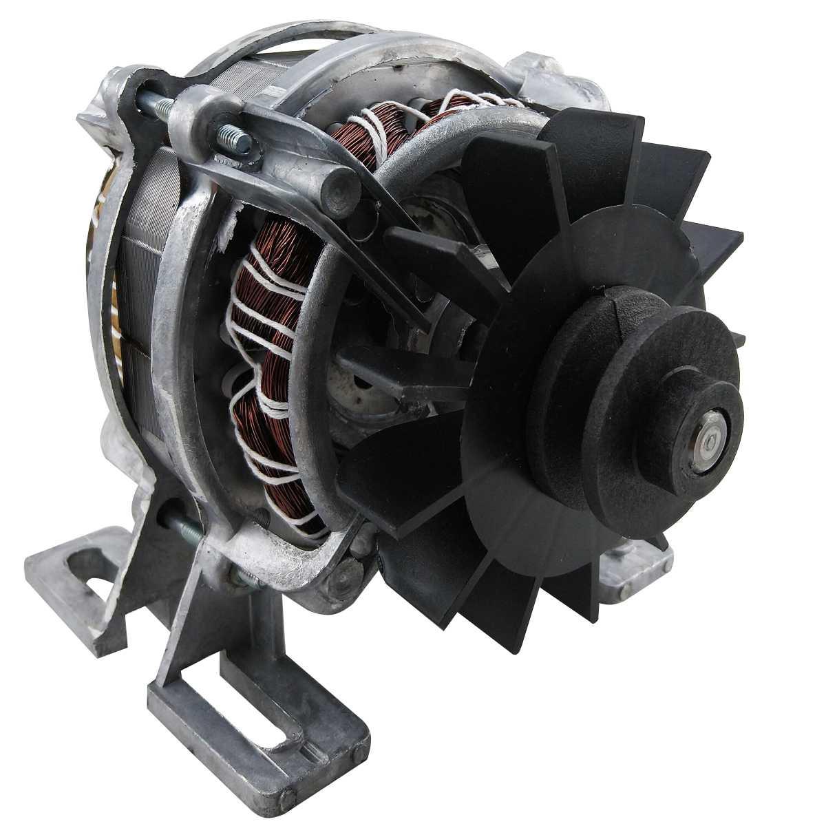 Motor base com polia v 30 mm 127v