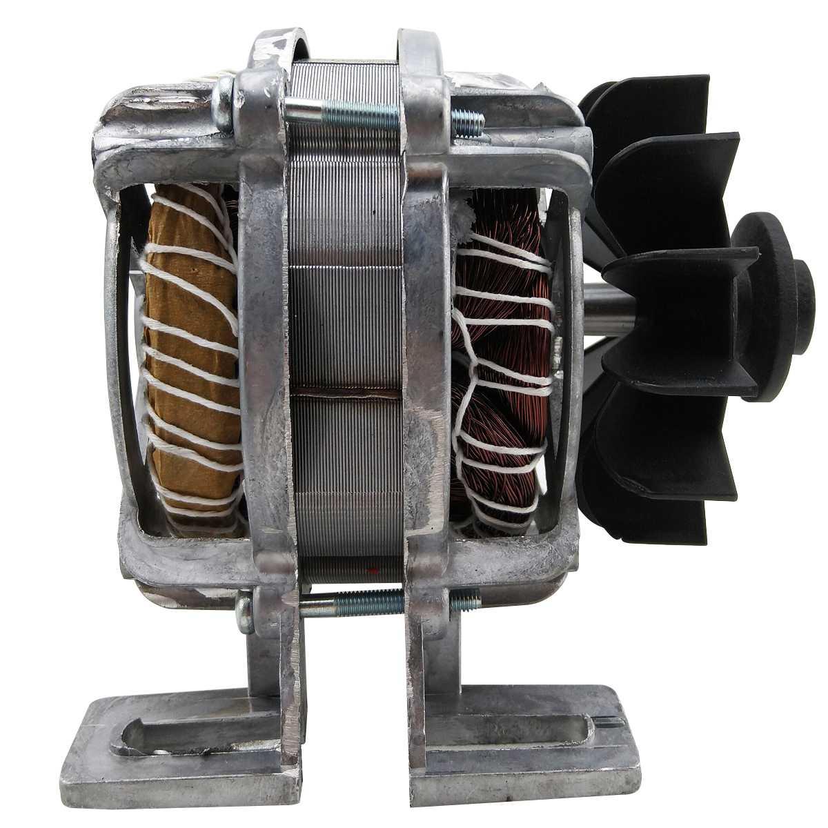 """Motor Tanquinho com base 220v polia""""v"""" 30mm"""