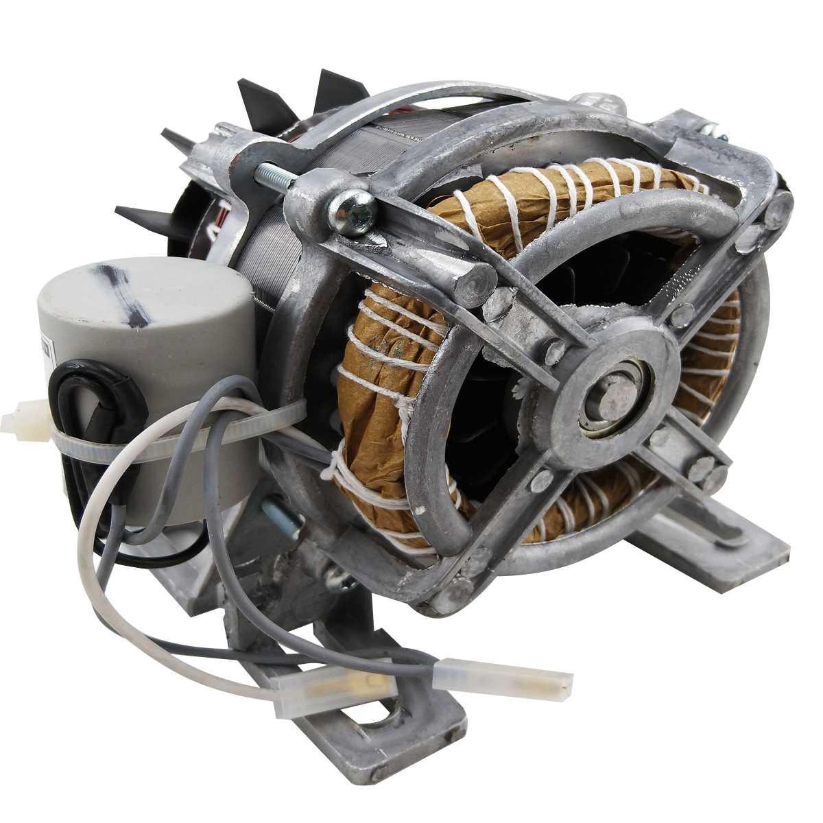 """Motor Tanquinho com base polia em """"v"""" 30 mm 220v Novo"""