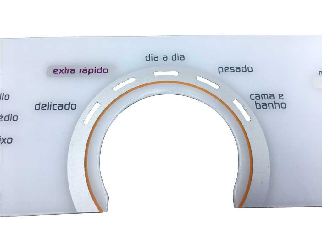 Painel membrana Lavadora Brastemp BWU11AB