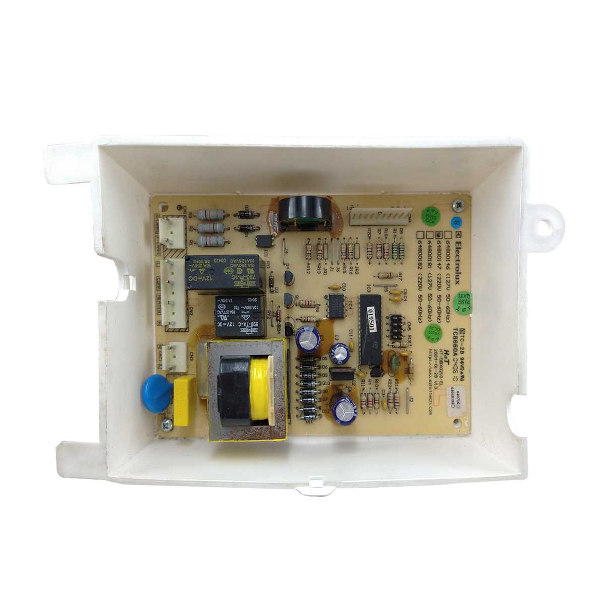 Placa controle eletrônico Geladeira Electrolux 220V DFF40, DFF44, DFF37, DFF39