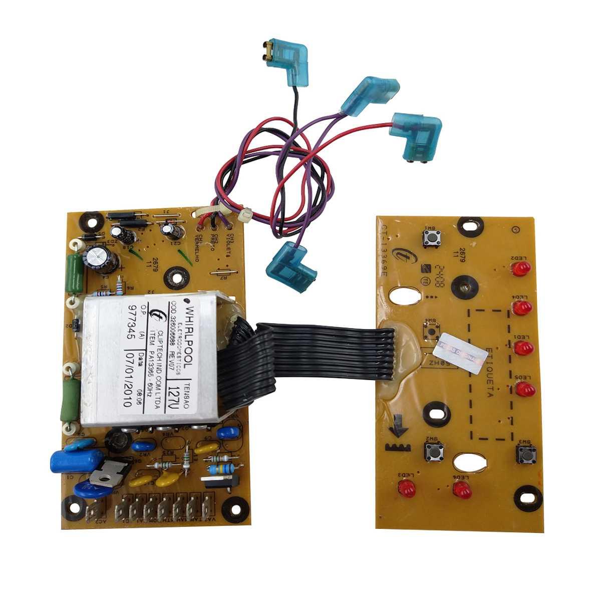 Placa controlel lavadora Consul 127V CWC24A
