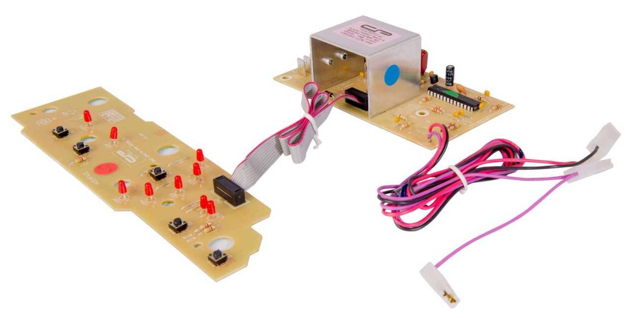 Placa eletrônica compatível Lavadora Brastemp BWC07 BWC08