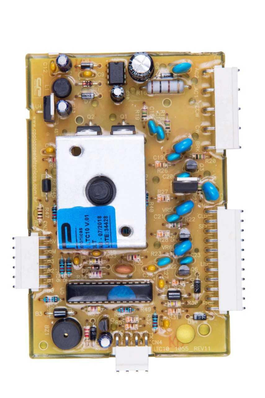 Placa Eletronica compatível Lavadora Electrolux LTC10 Ver.1