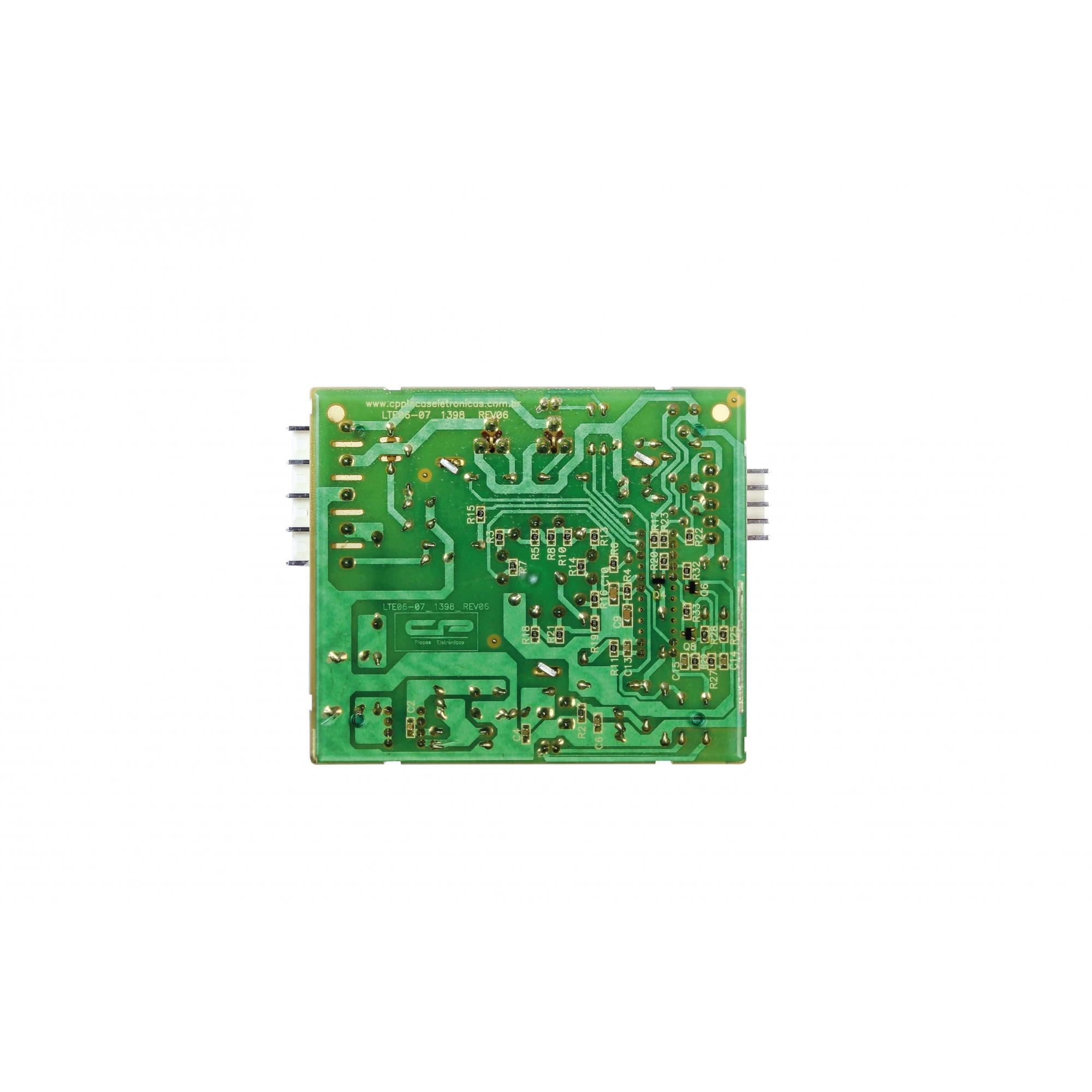 Placa eletrônica compatível lavadora Electrolux LTE06