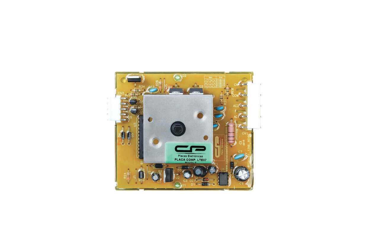 Placa Eletronica compatível Lavadora Electrolux potencia LTE07