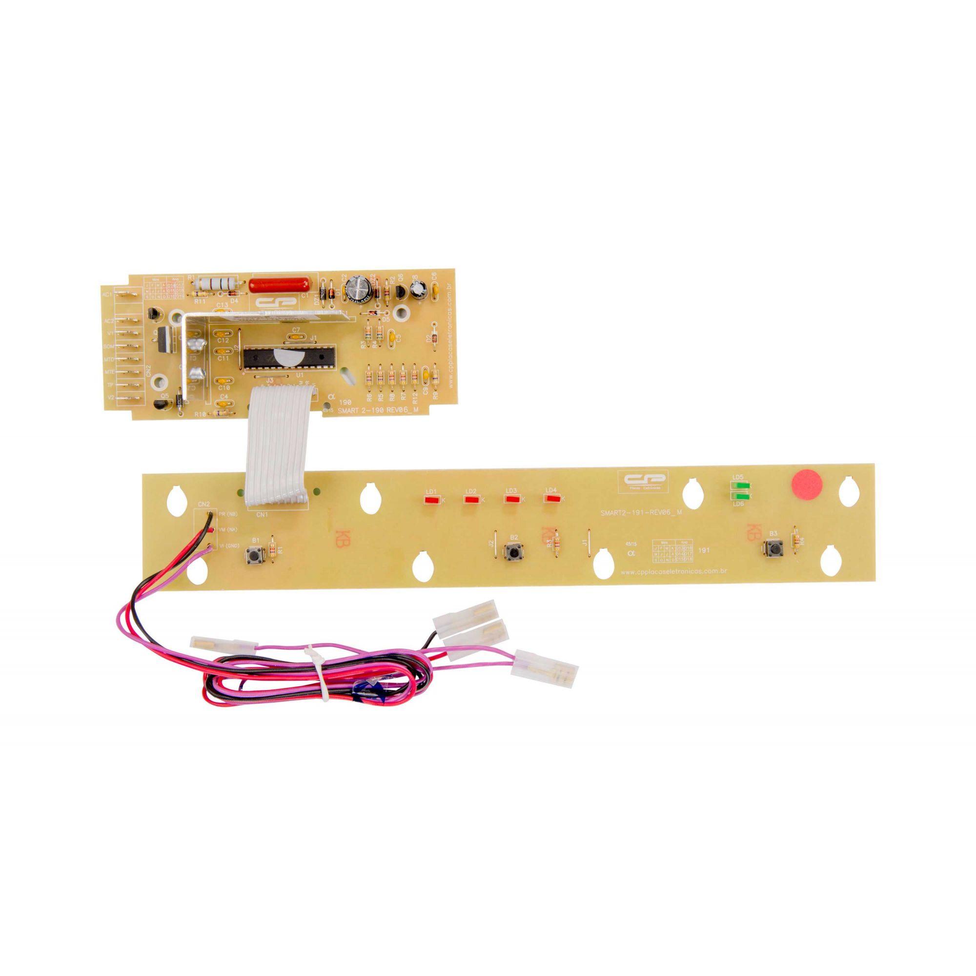 PLACA ELETRONICA LAVADORA BRASTEMP SMART BWB22B BWM06A CP0200
