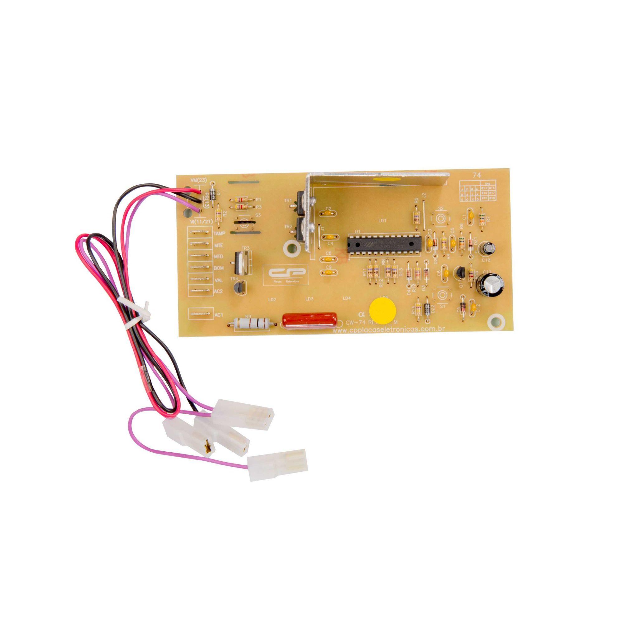 Placa Eletronica Lavadora Consul 5kg CP0125